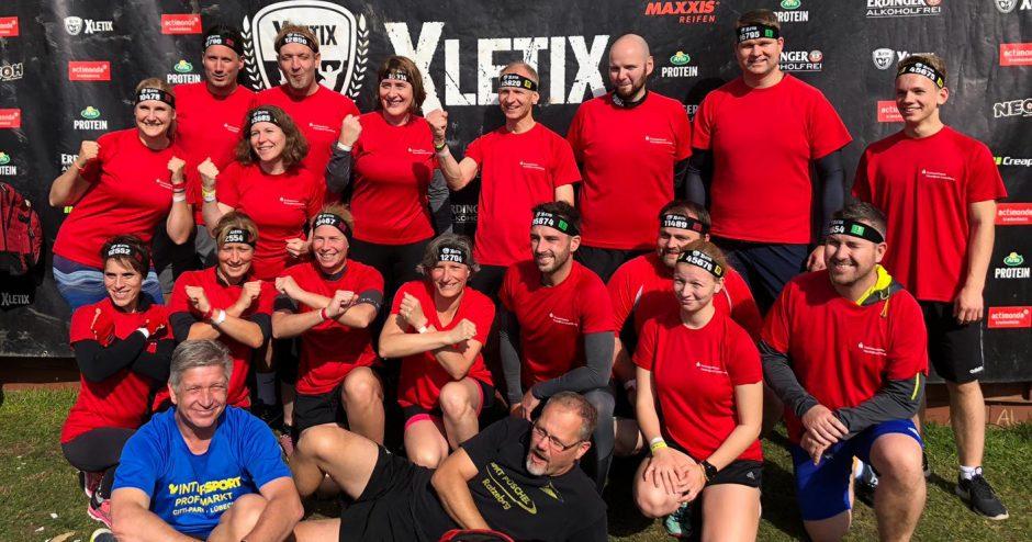 """Kreissparkasse beweist tollen Teamgeist bei """"X-LETIX"""" in Grömitz"""