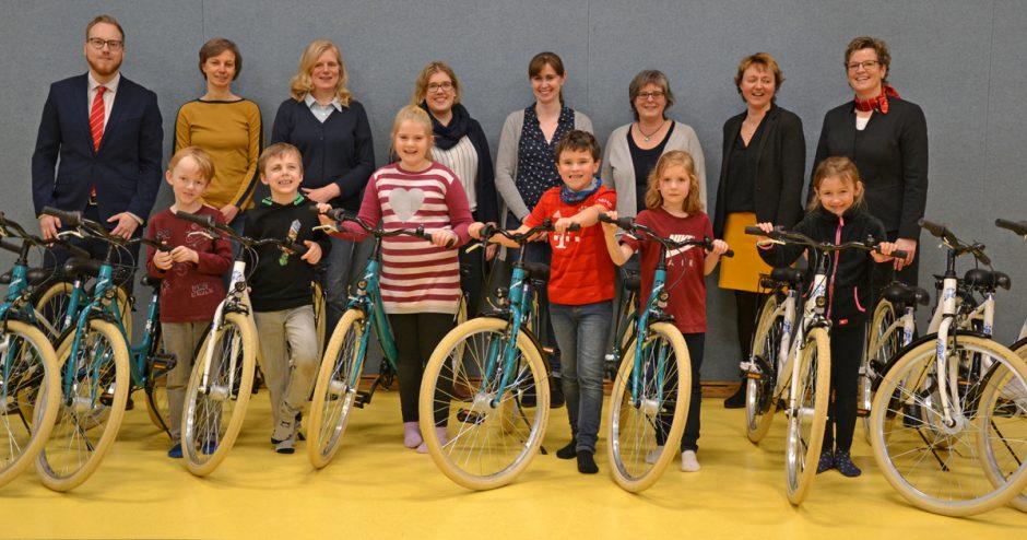Indoor-Fahrräder sorgen für mehr Sicherheit bei Schulkindern