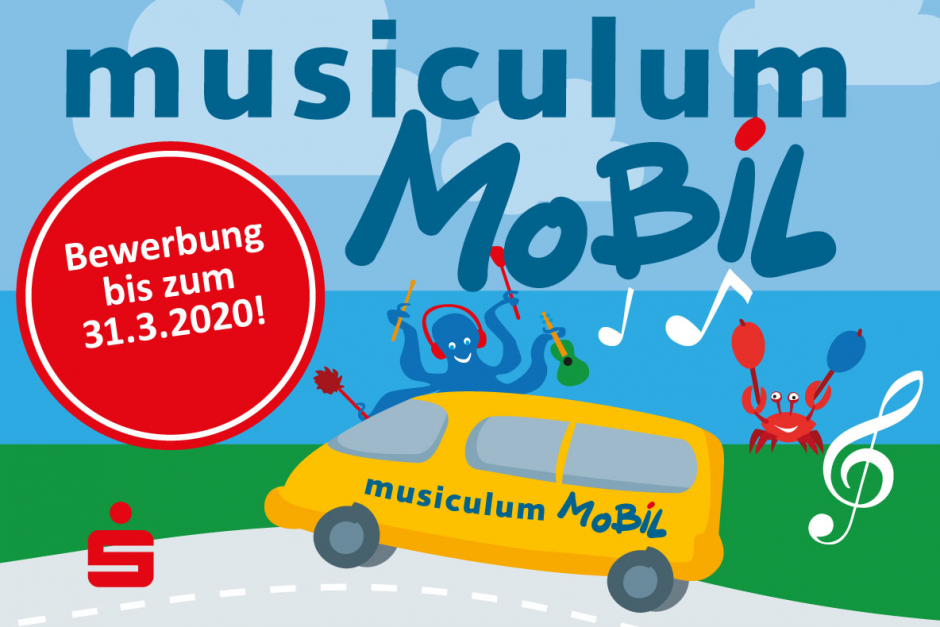 Die Sparkassen vergeben 80 kostenfreie musiculum MOBIL Einsätze für Kitas in ganz Schleswig-Holstein