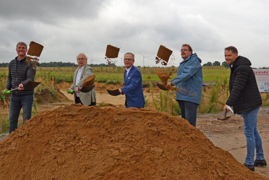 """Büchen wächst – Erster Spatenstich für neues Baugebiet """"Pötrauer Höhe"""""""